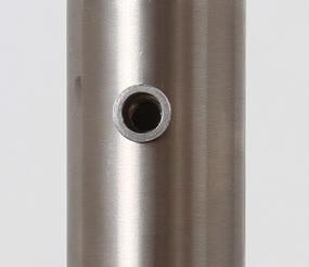 montageanleitung glashalter an edelstahlrohr mit einnieth lse. Black Bedroom Furniture Sets. Home Design Ideas