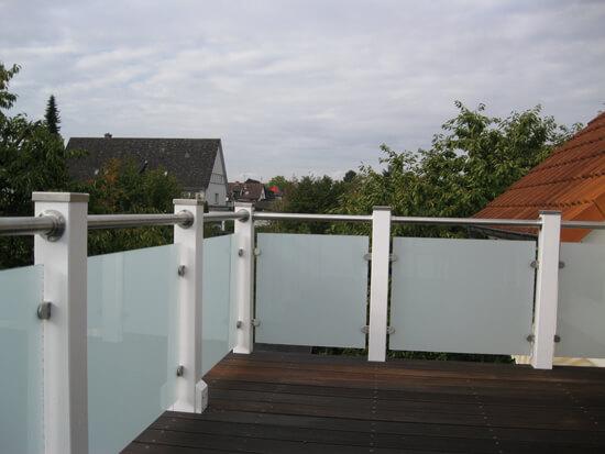 Glas Gelander Fur Holzterrasse Kundenprojekt Fotos