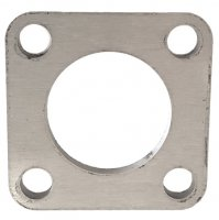 quadratische Anschraubplatte