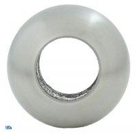 Edelstahl Massivkugel mit Durchgangsbohrung für 12,2 mm Stäbe aus V2A