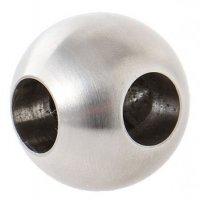Massivkugel mit 2x Sackloch 12,2 mm - Durchmesser 25 mm