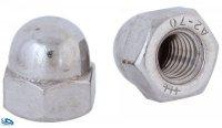 Hutmutter V2A - hohe Form